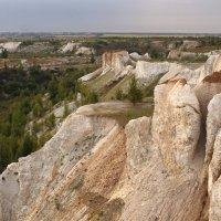 ...белые скалы... :: Александр Герасенков
