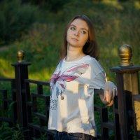 вечер в парке :: Александра Сучкова