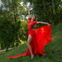 Балерина Дарья. :: юрий макаров