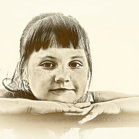 Портрет девочки. :: Лилия *