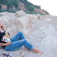 отпуск на море... :: Райская птица Бородина