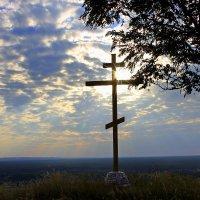 У поклонного креста... :: Валентина ツ ღ✿ღ