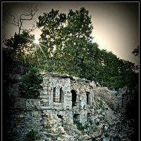 Живописные развалины с боку Потемкинской лестницы :: Юрий Гординский