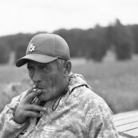сигаретка :: Евгений Золотаев