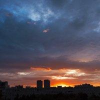 Вчера был красивый закат. :: Александр Заварухин