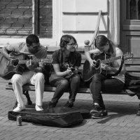 Две гитары под окном ... :: Александр Степовой