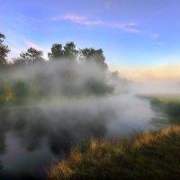 Туманный август... :: Андрей Войцехов
