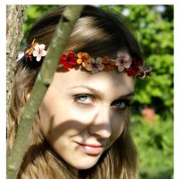 Девушка Юля :: Елизавета Хисмадинова