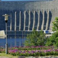 На Саяно - Шушенской ГЭС :: galina tihonova