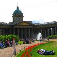 Студенты отдыхают. :: Александр Атаулин