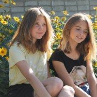 Девочки :: Кристина Cкосарева