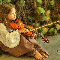 Волшебная скрипка :: Юлия Никифорова