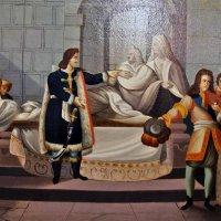 Пётр1 перед статуей герцога Ришелье :: Nikolay Monahov