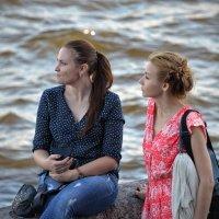 На набережной :: Юрий Тихонов