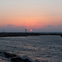 закат-пляж Фанес :: Борис Иванов