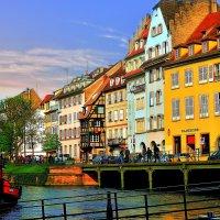 разноцветный Страсбург :: Александр Корчемный