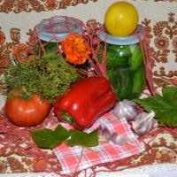 Огурчики,да помидорчики.. :: zoja