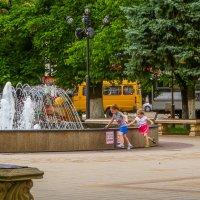 Армавир - город скверов, цветов и фонтанов... :: Юлия Бабитко