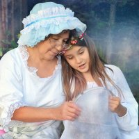 Сказки доброй бабушки :: Анна Ершова