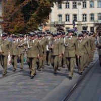 Львов гость дня независимости Украины оркестр войска польского :: пан Шмулинсон