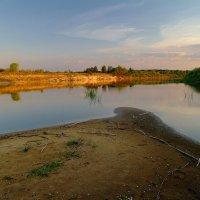 Речной пейзаж с отмелью... :: Юрий Анипов