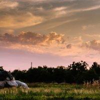 закат в селе :: Iryna K