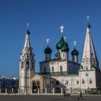 Церковь Илии Пророка (1647-1650) :: Elena Ignatova
