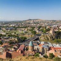 Тбилиси Вид на город с крепости Нарикала :: Вячеслав Шувалов