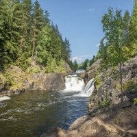 Водопад Кивач :: Аnatoly Gaponenko