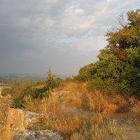 Перед утренним дождём. Крымские горы :: Александр Казанцев