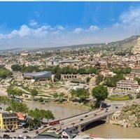 Вид на Тбилиси с крепости Нарикала :: Вячеслав Шувалов