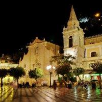 """Ночная Таормина(уютный городок на Сицилии) из серии """"Прогулки по Таормине"""" :: Free"""