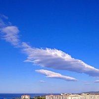 пикируюшие облака :: Валерий Дворников