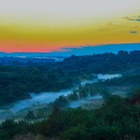Синий туман - похож на обман. :: Бронислав Богачевский