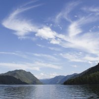Телецкое озеро в августе :: @ fotovichka