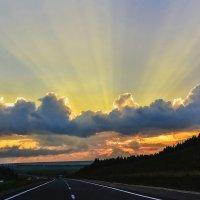 Пройдено более 1200 км. :: юрий Амосов