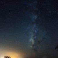 Млечный путь по дороге в Эйлат. Израиль :: Даниил Евтухов