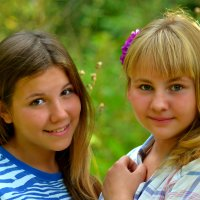 Подруги :: Вераника Орехова