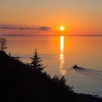 Рыбаки на закате :: Алексей Белик