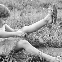 Я сижу на берегу не могу поднять ногу! Не ногу, а ногу... Всё равно,не могу! :: A. SMIRNOV