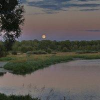 Вот  и  луна. :: Валера39 Василевский.