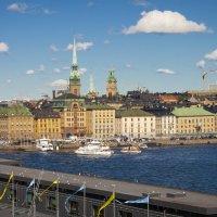 в Стокгольме переменная облачность :: liudmila drake