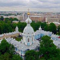 Вид с колокольни Смольного собора :: Вера Щукина