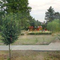 Детская площадка в обновленном парке Победы :: НаталиЯ ***