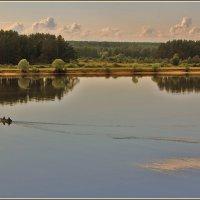 рыбаки на Волге :: Дмитрий Анцыферов