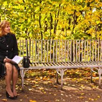 Отдых в золотом :: Наталья