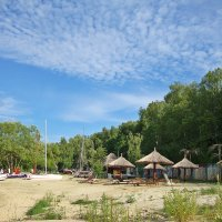 Пляж на Сурском водохранилище :: Лидия (naum.lidiya)