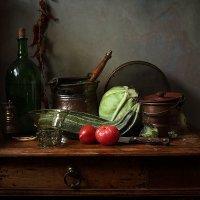 Вариации с кабачками и капустой :: Татьяна Карачкова