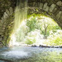 Водопад в поселке Аргируполис (Argiroupolis) :: Sergey Lebedev