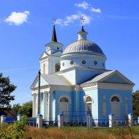 Сельская церковь. :: Валентина ツ ღ✿ღ